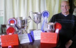 Garth Vet Client Collects Armful of Trophies at Fatstock Show